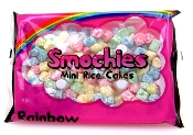 Mini Mochi Topping (Rainbow) 300g Bag (24 Bags/Case)