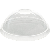 4 Oz. Clear Plastic Dome Lids (1000/Case)