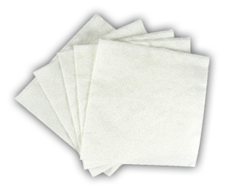 White 1 Ply Beverage Napkins 9x9 (4000/Case)