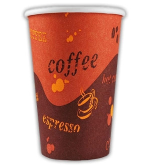 24 Oz. Generic Paper Hot Cups 500/case