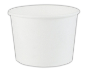 16 Oz. White Frozen Yogurt Cups 1000/Case