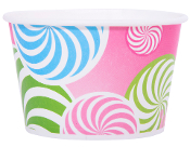 8 Oz. Swirl Yogurt Cups 600/Case