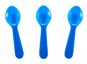 taster spoons, taster, spoons, colored, ice cream
