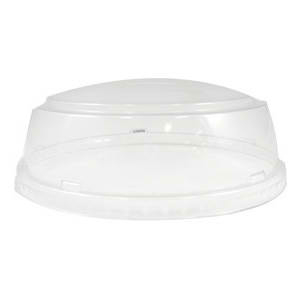 32 Oz. Clear Plastic Dome Plastic Lids For Frozen Yogurt Cups.