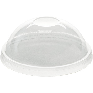 12 Oz. Clear Plastic Dome Lids 1000/Case
